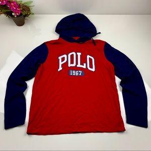 Polo Ralph Lauren Long Sleeve Hoodie Size Med